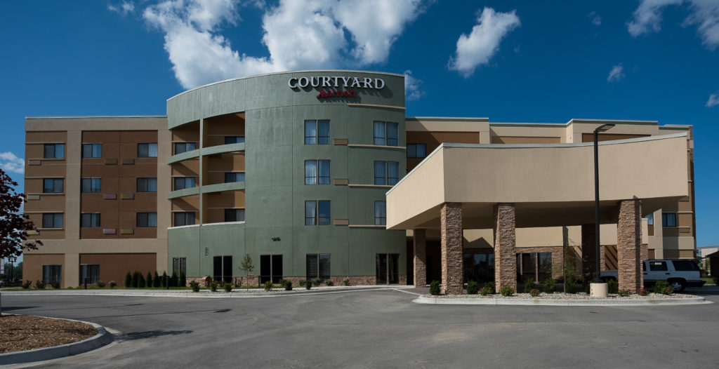 Bay City Mi Courtyard By Marriott Is Scheduled To Open Its Doors In Michigan Today Featuring An Innovative Lobby E As Well